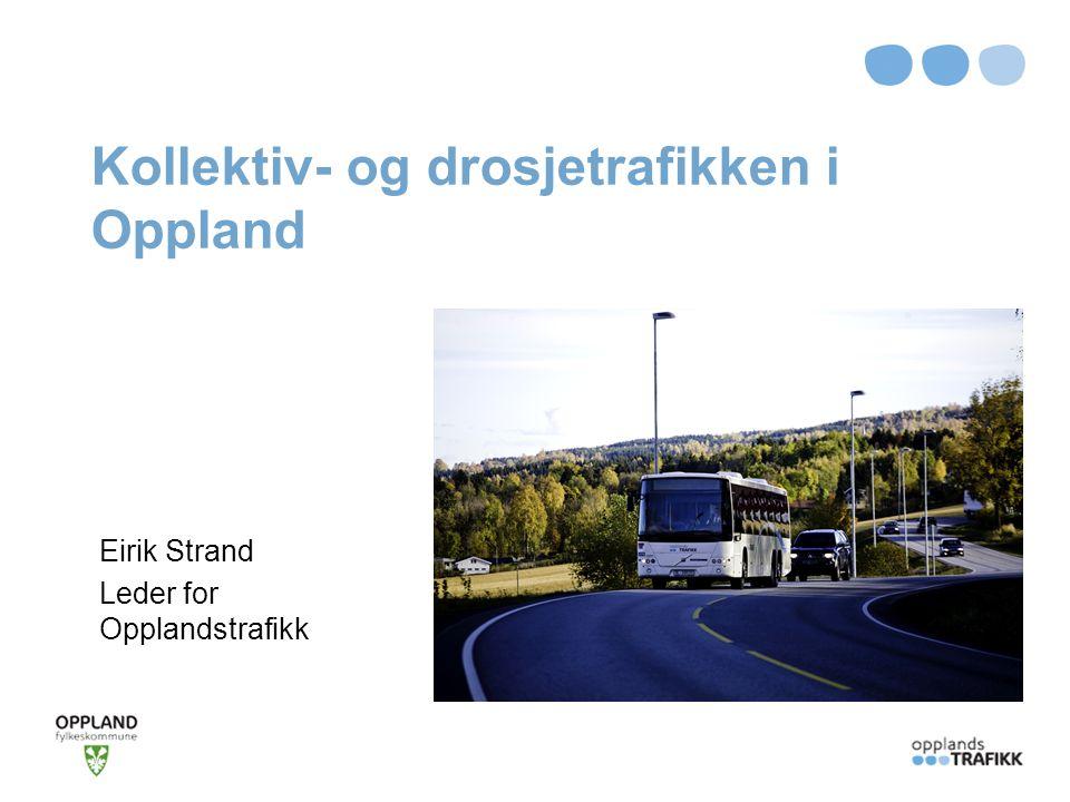 Kollektiv- og drosjetrafikken i Oppland