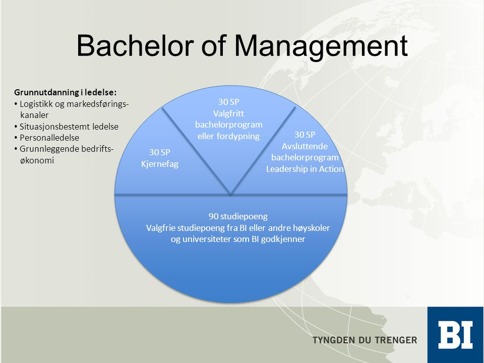 Bachelor of Management