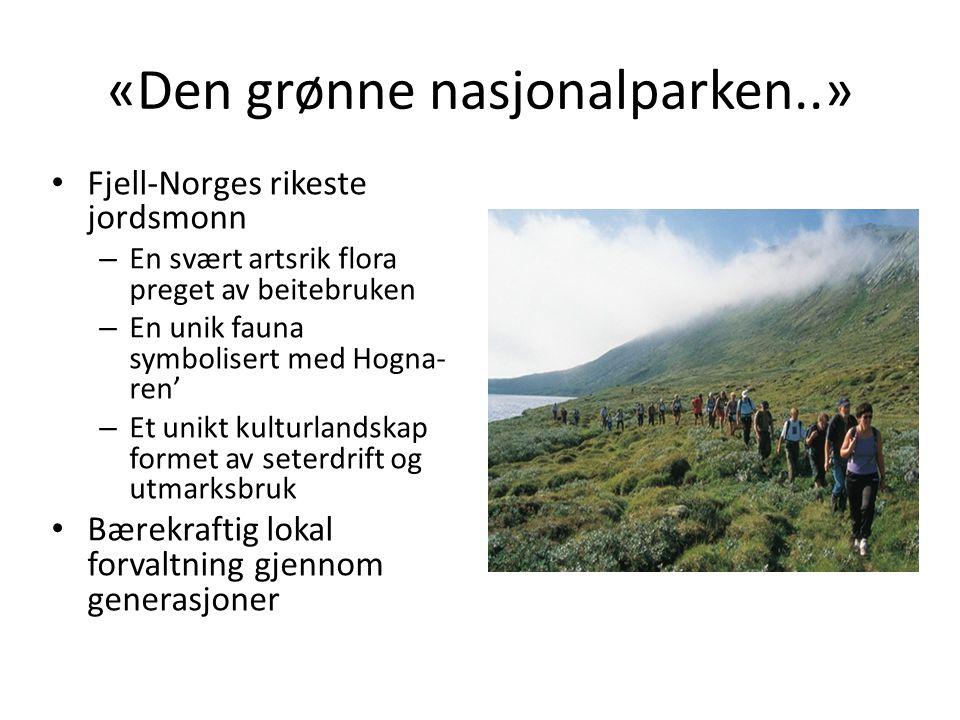 «Den grønne nasjonalparken..»