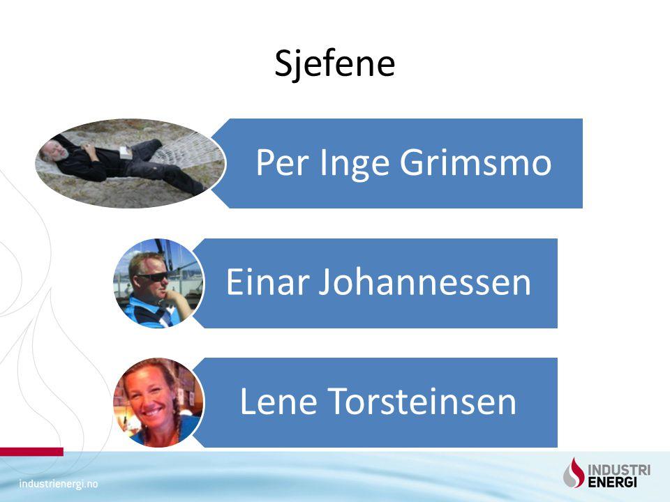 Sjefene Per Inge Grimsmo Einar Johannessen Lene Torsteinsen