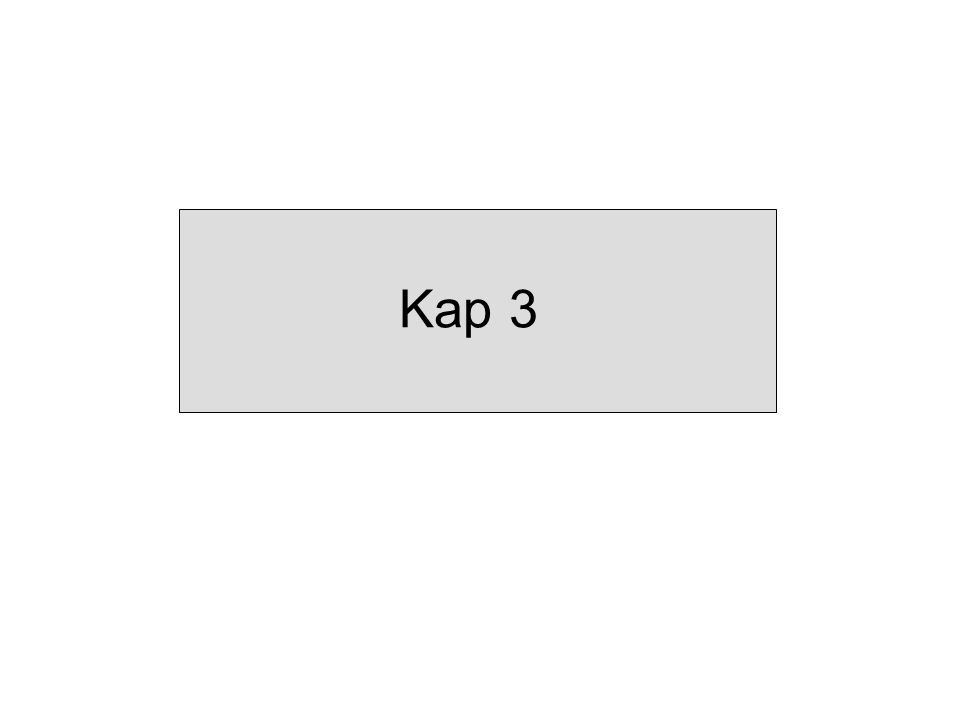 Kap 3