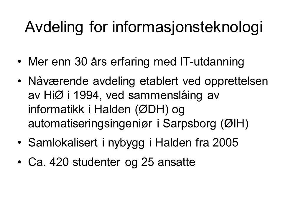 Avdeling for informasjonsteknologi