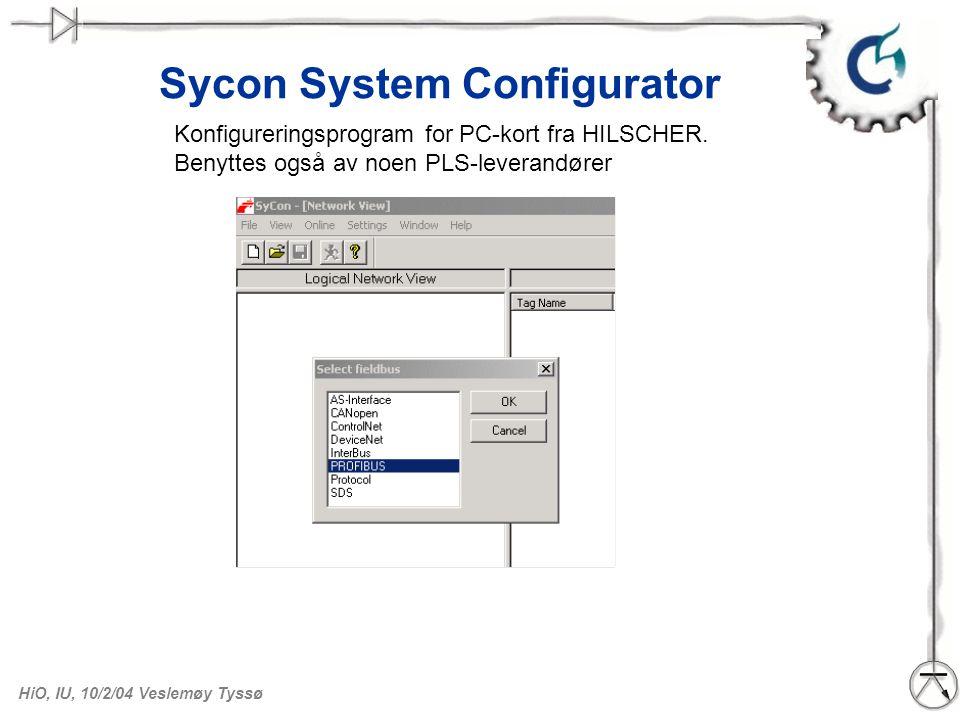 Sycon System Configurator