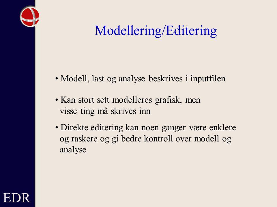 Modellering/Editering