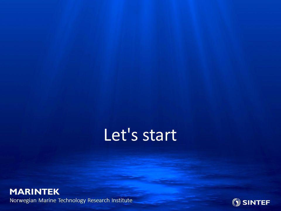 Let s start