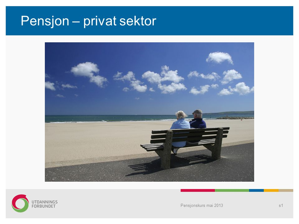 Pensjon – privat sektor