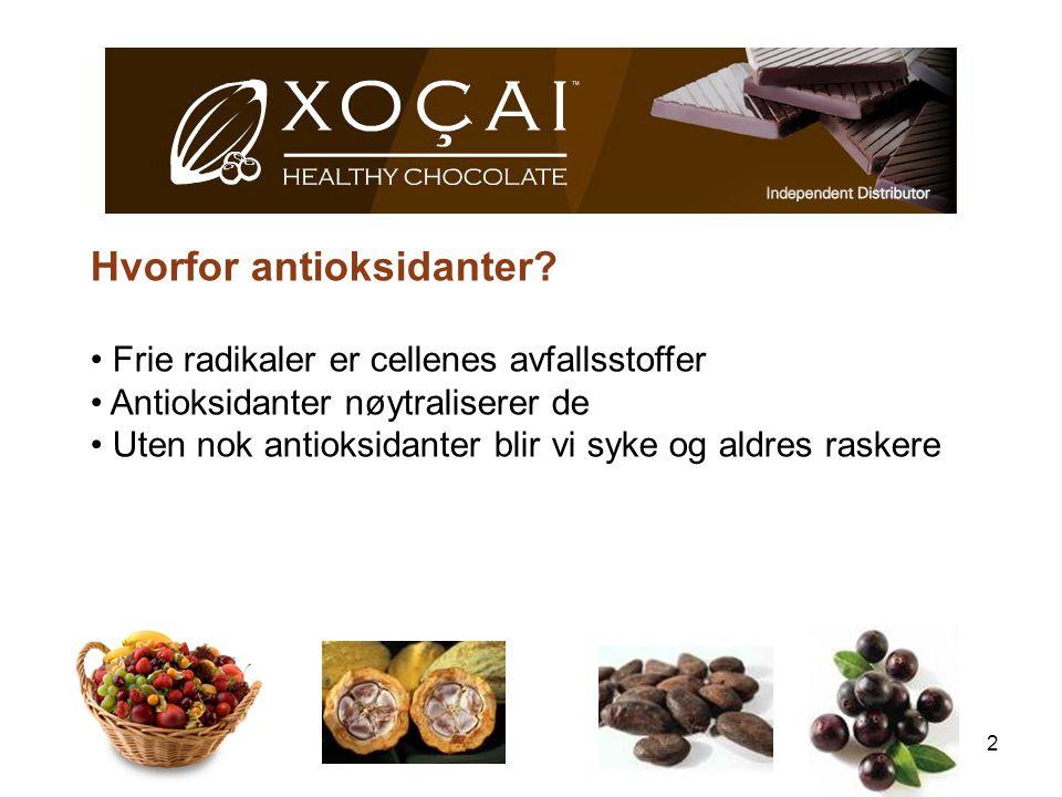 Hvorfor antioksidanter