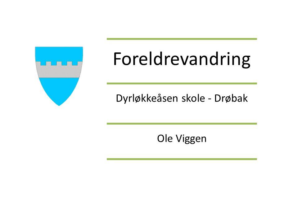 Dyrløkkeåsen skole - Drøbak