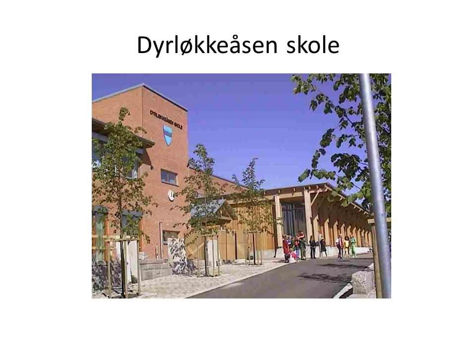 Dyrløkkeåsen skole