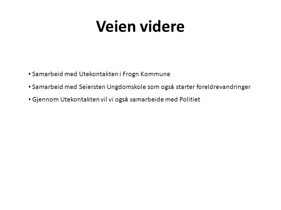 Veien videre Samarbeid med Utekontakten i Frogn Kommune