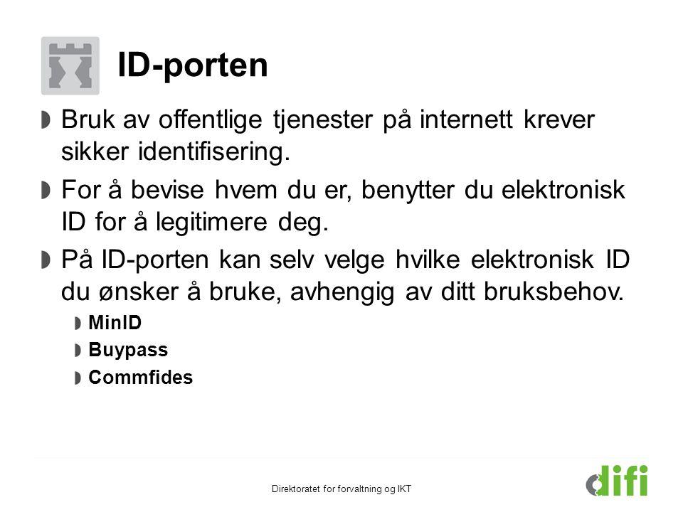 Direktoratet for forvaltning og IKT