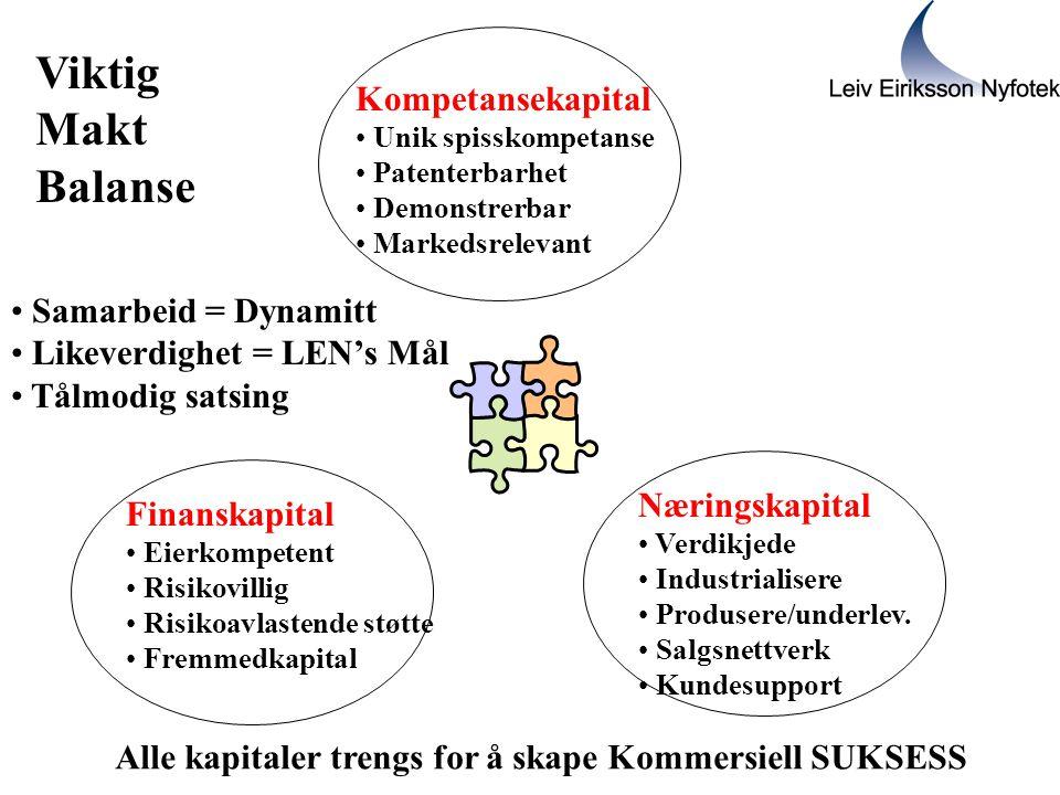 Viktig Makt Balanse Kompetansekapital Samarbeid = Dynamitt