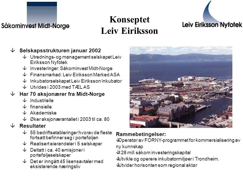 Konseptet Leiv Eiriksson