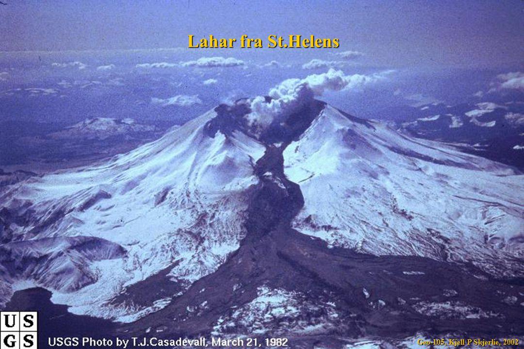 Lahar fra St.Helens Geo-105, Kjell P Skjerlie, 2002