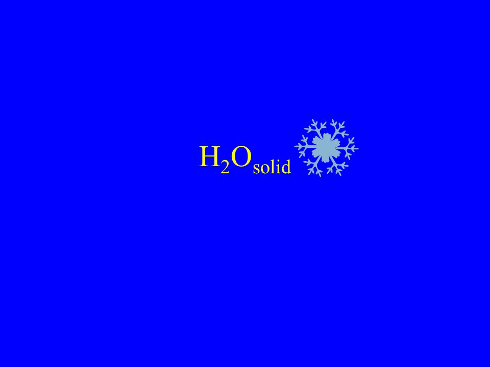 H2Osolid