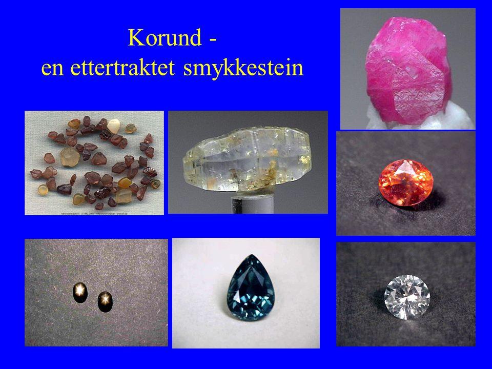 Korund - en ettertraktet smykkestein