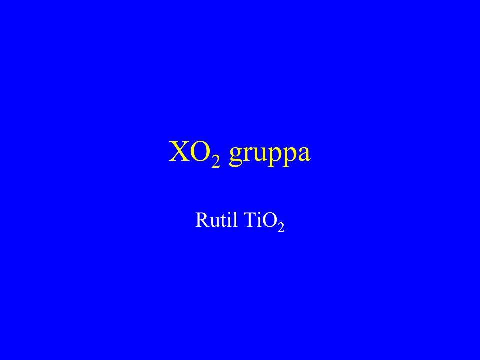 XO2 gruppa Rutil TiO2