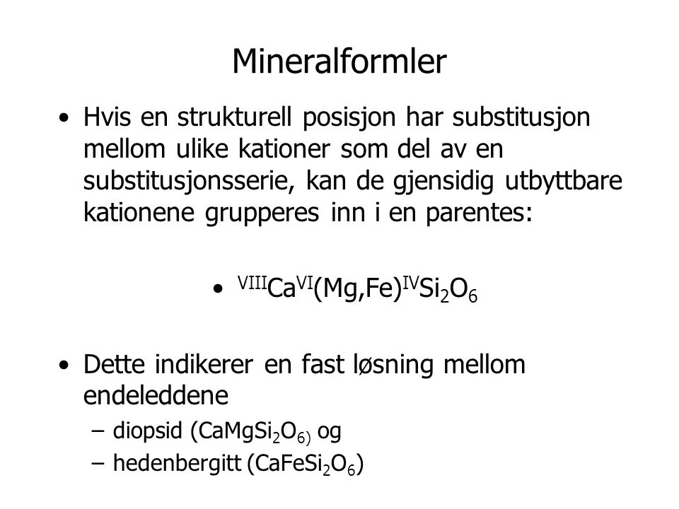Mineralformler