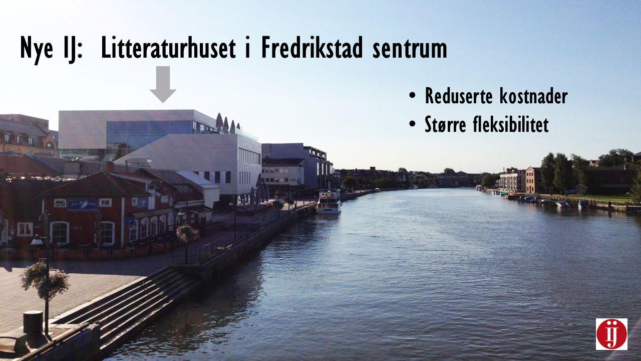 Nye IJ: Litteraturhuset i Fredrikstad sentrum