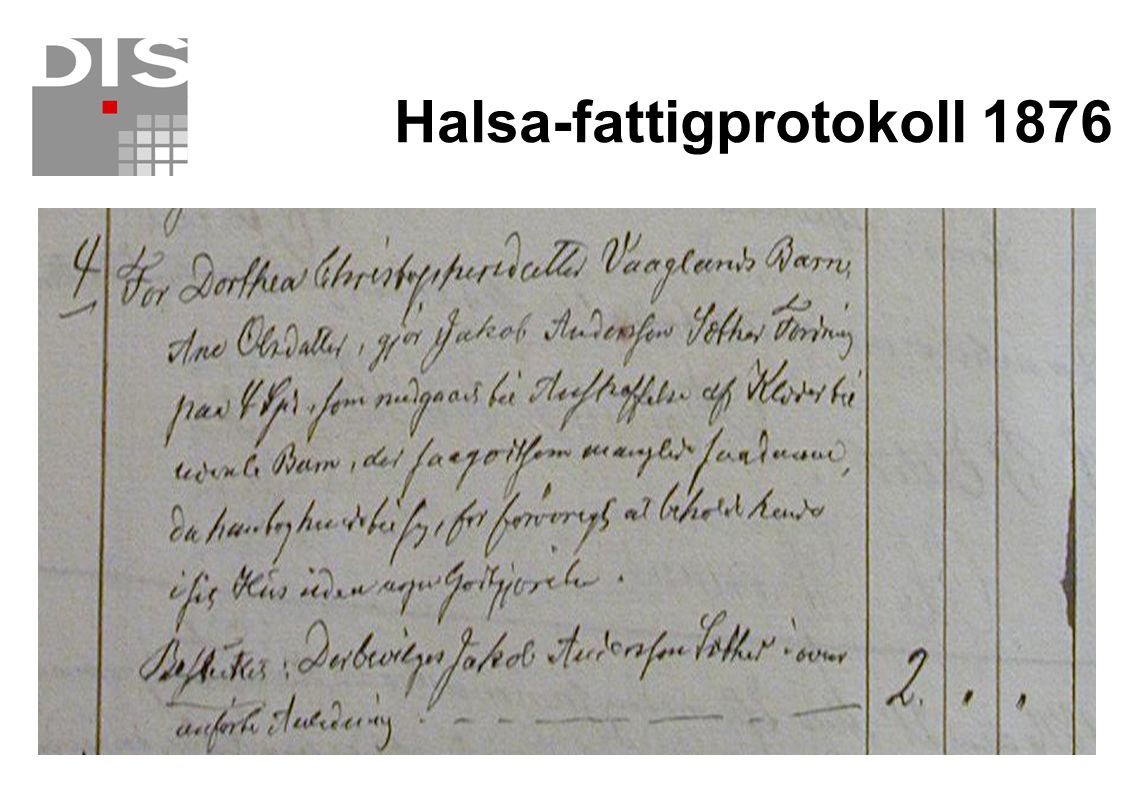 Halsa-fattigprotokoll 1876