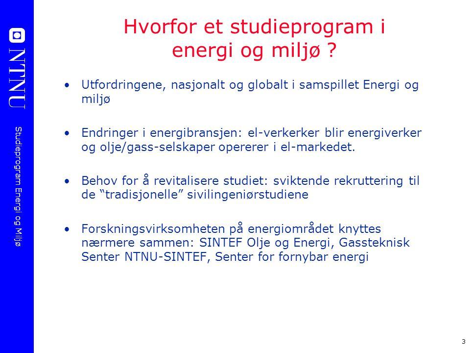 Hvorfor et studieprogram i energi og miljø