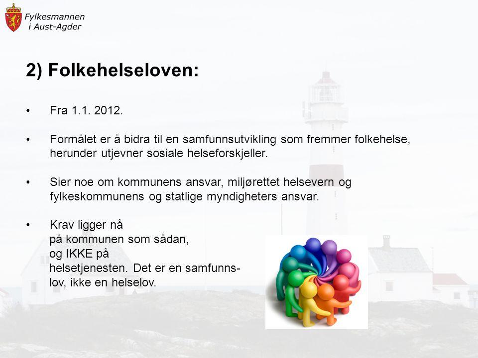 2) Folkehelseloven: Fra 1.1. 2012.