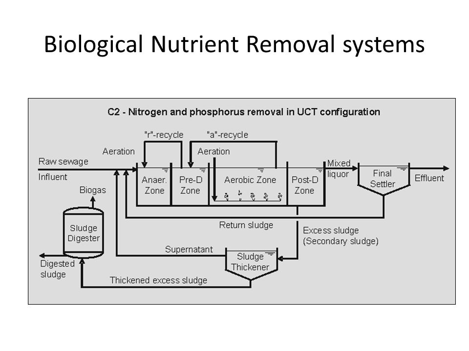 Biological Nutrient Removal systems
