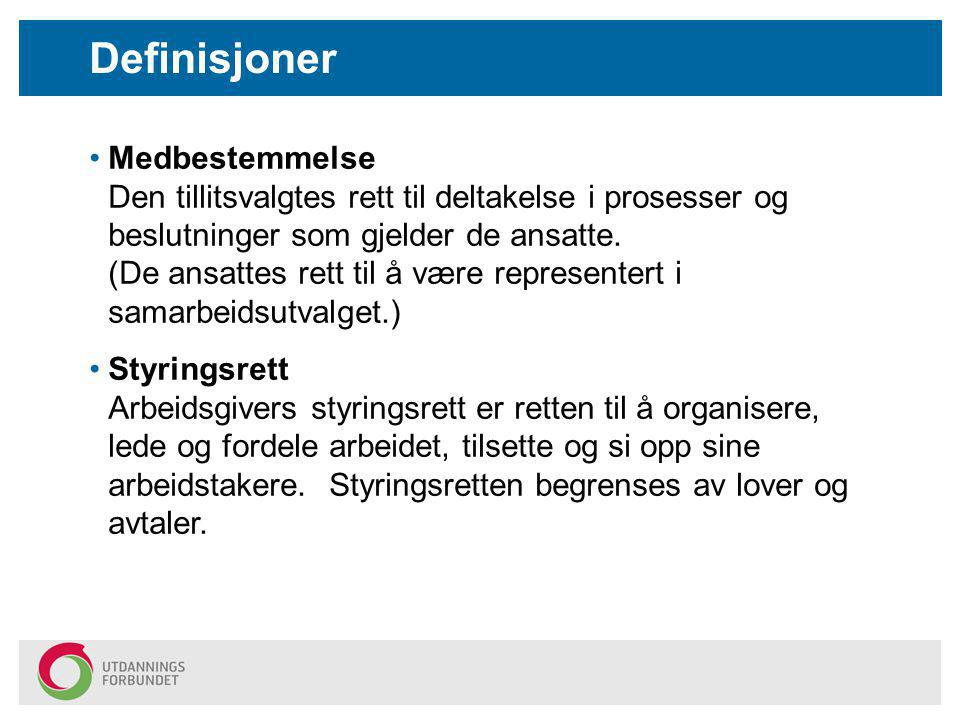 Definisjoner