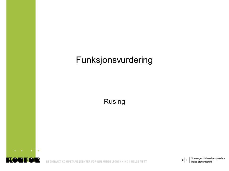 Funksjonsvurdering Rusing Slide 21
