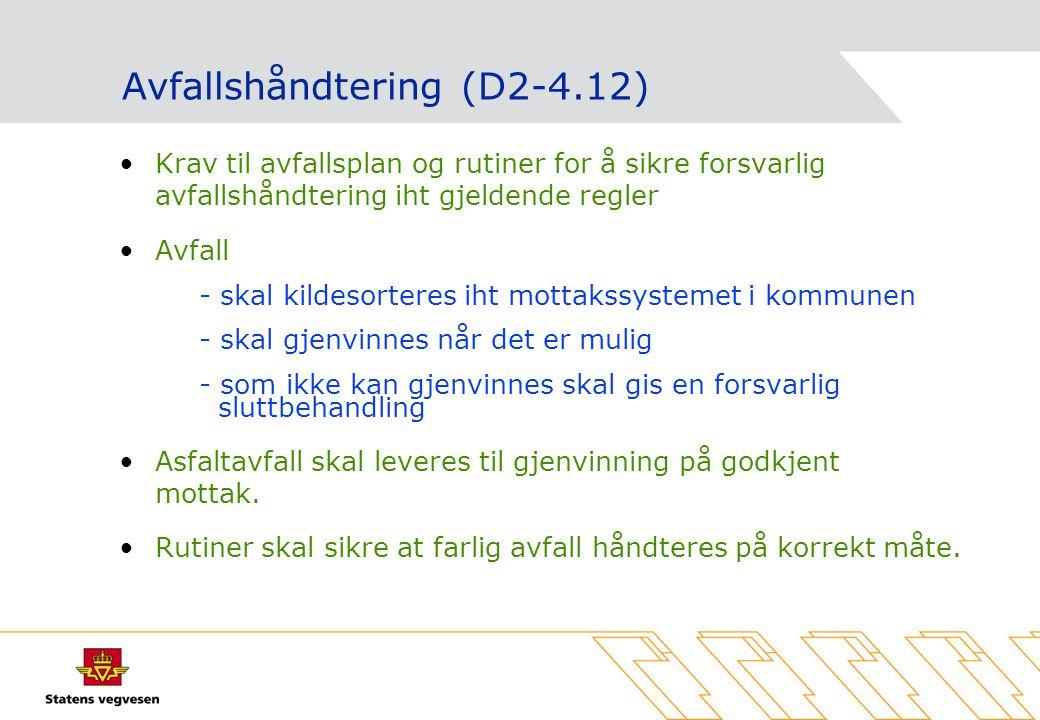 Avfallshåndtering (D2-4.12)