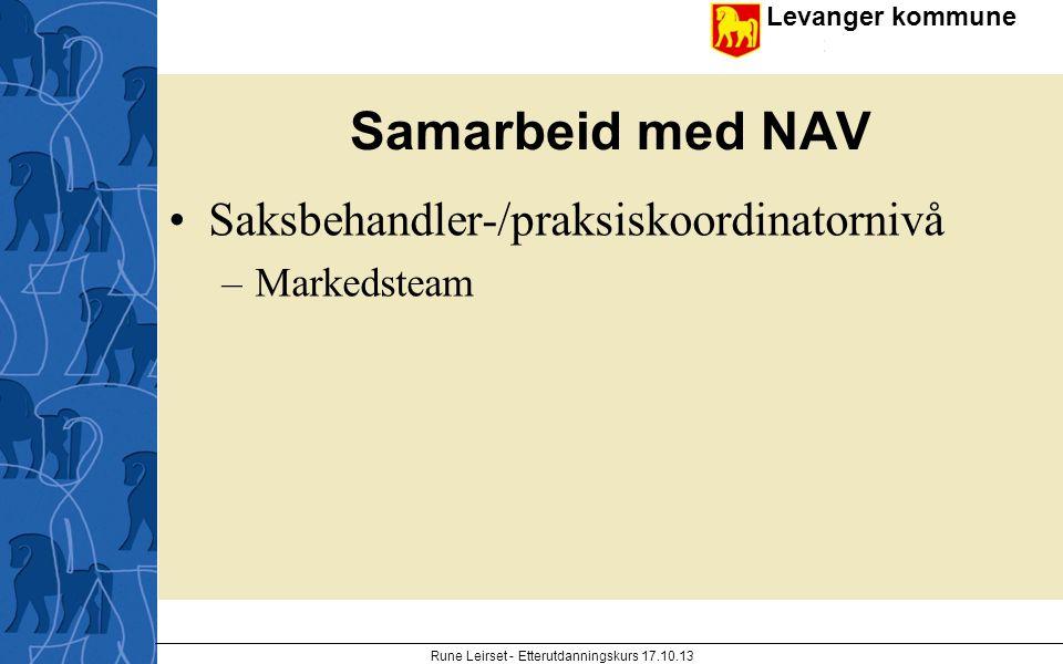 Rune Leirset - Etterutdanningskurs 17.10.13