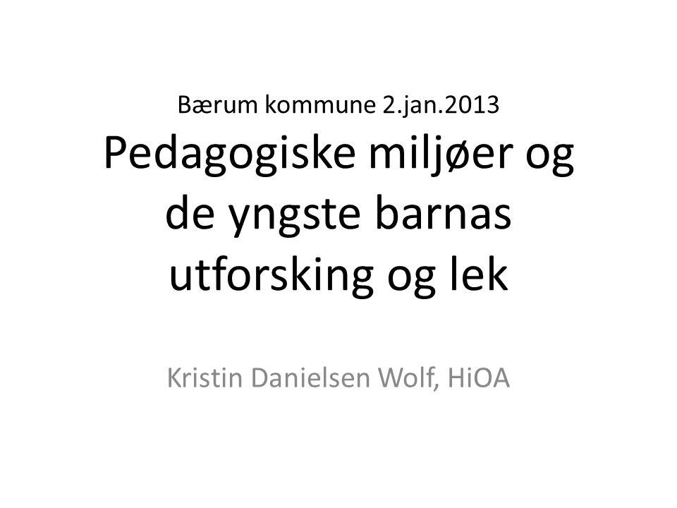 Kristin Danielsen Wolf, HiOA