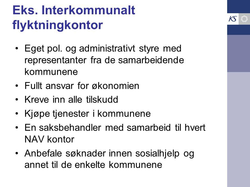 Eks. Interkommunalt flyktningkontor