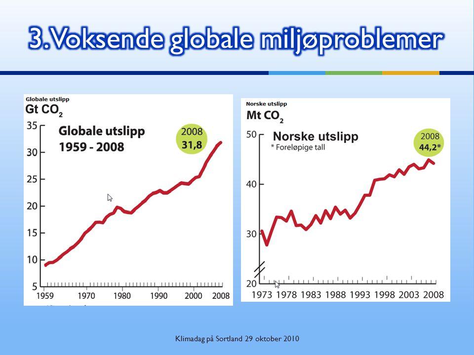 3. Voksende globale miljøproblemer