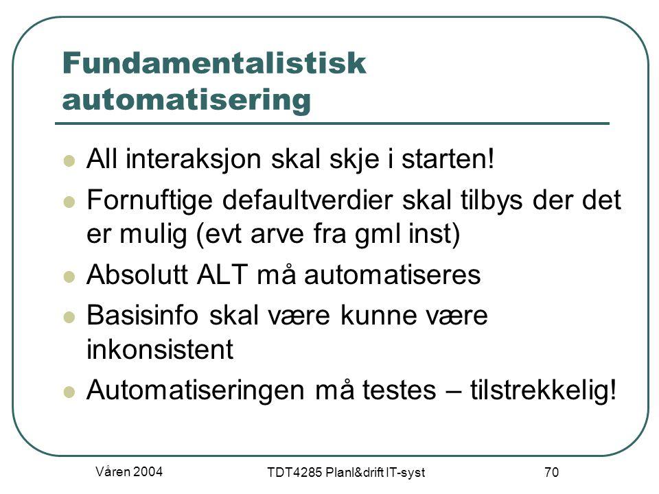 Fundamentalistisk automatisering
