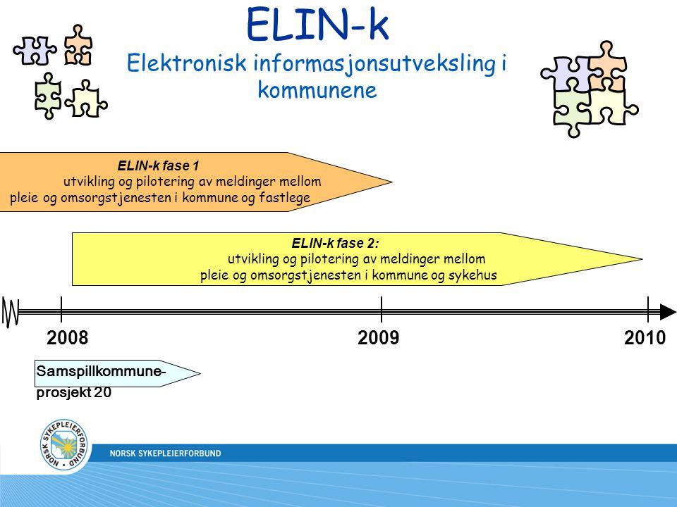 ELIN-k Elektronisk informasjonsutveksling i kommunene