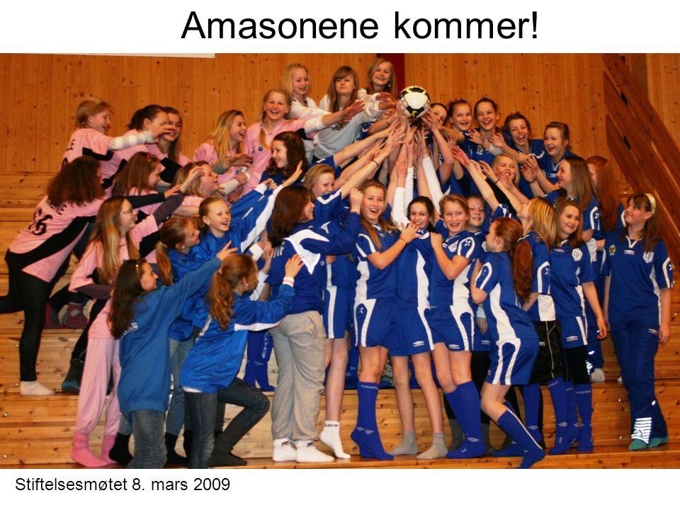Amasonene kommer! Stiftelsesmøtet 8. mars 2009