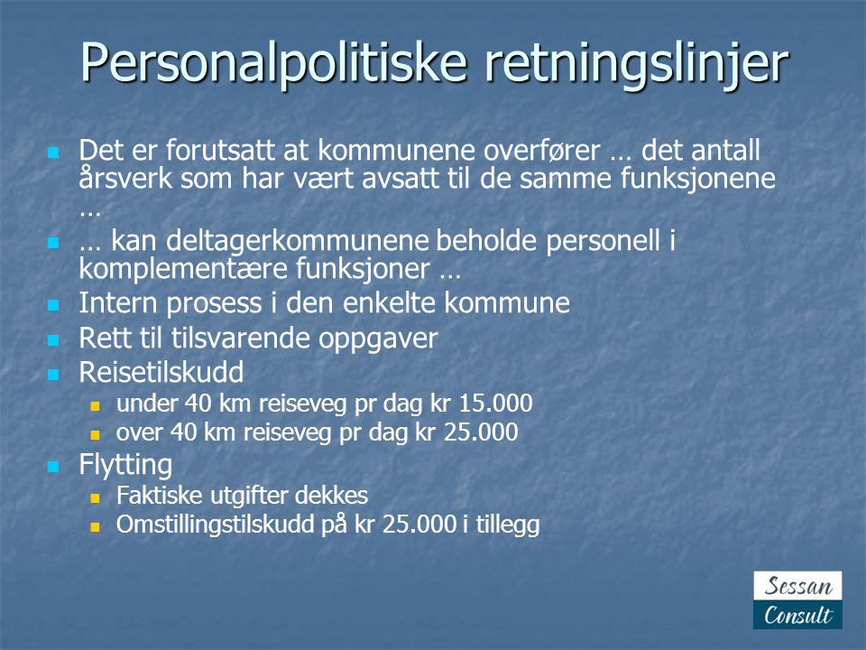 Personalpolitiske retningslinjer