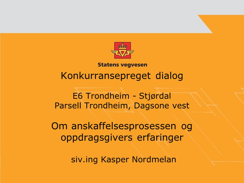 siv.ing Kasper Nordmelan