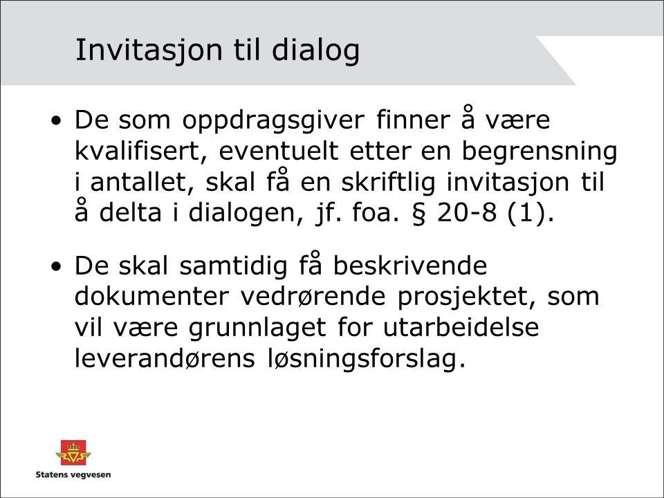 Invitasjon til dialog
