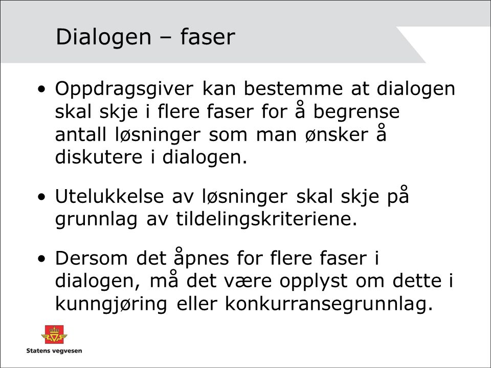 Dialogen – faser