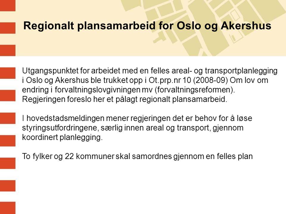 Regionalt plansamarbeid for Oslo og Akershus