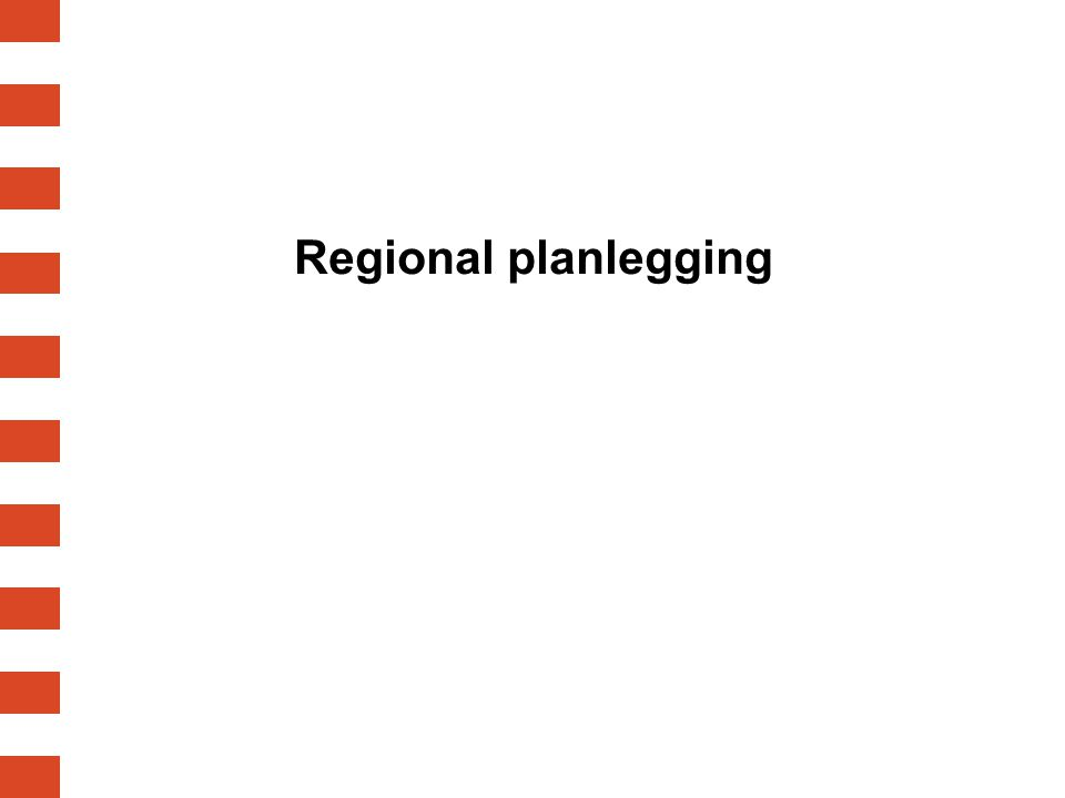 Regional planlegging