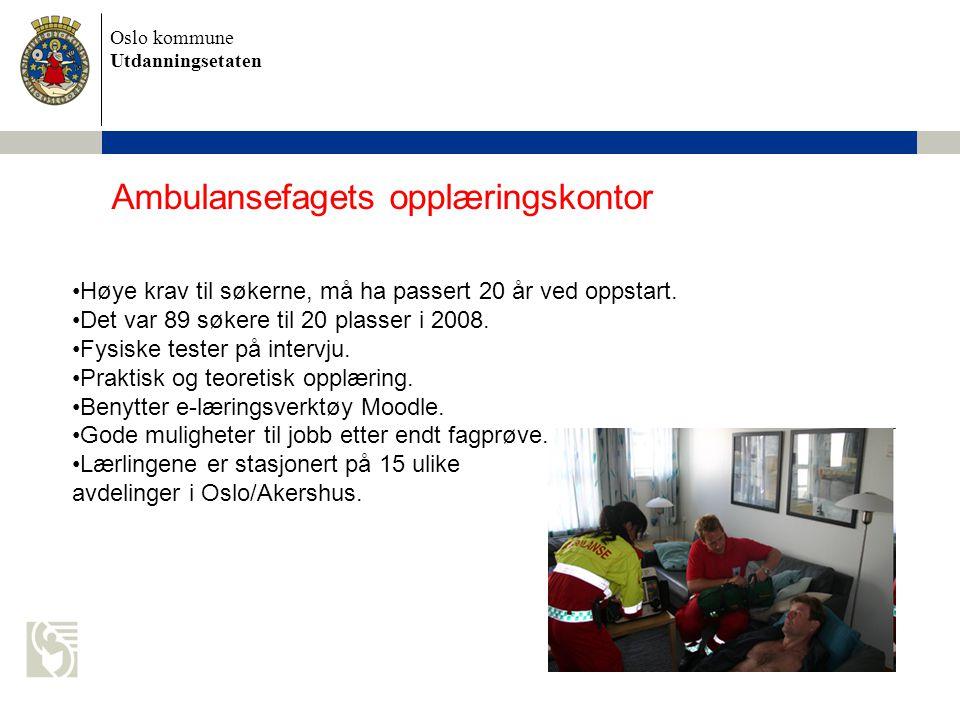 Ambulansefagets opplæringskontor