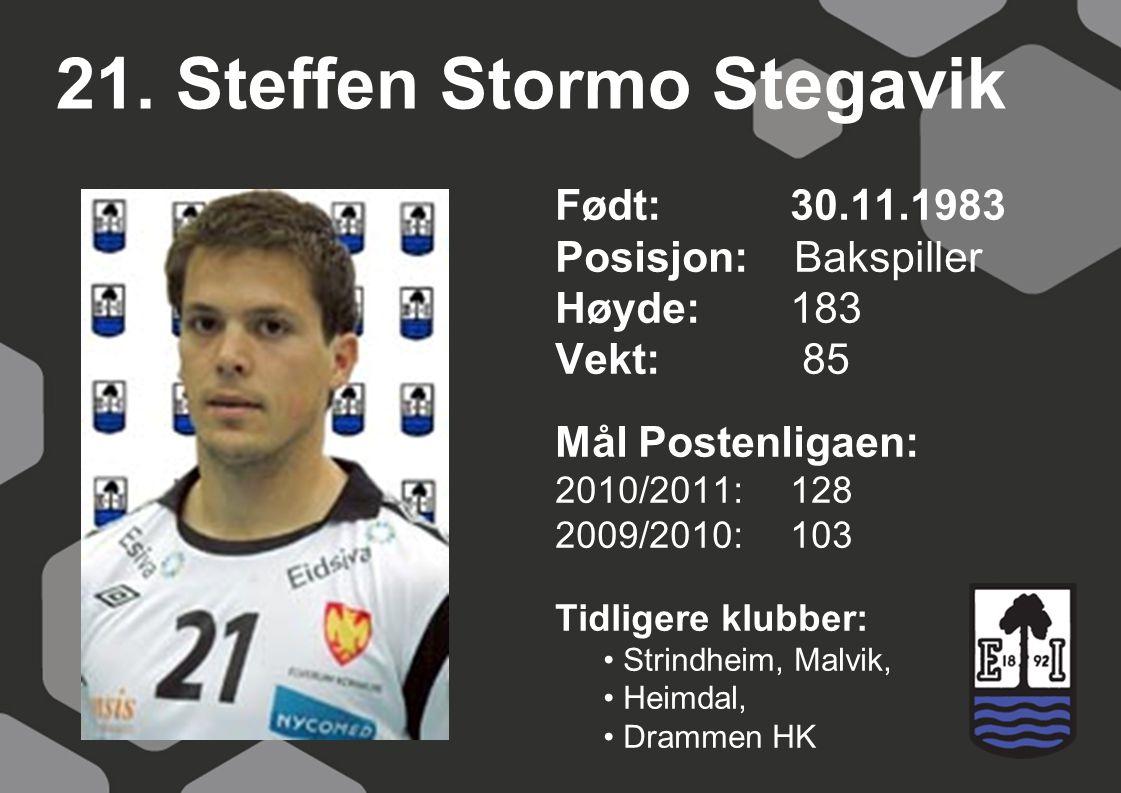 21. Steffen Stormo Stegavik