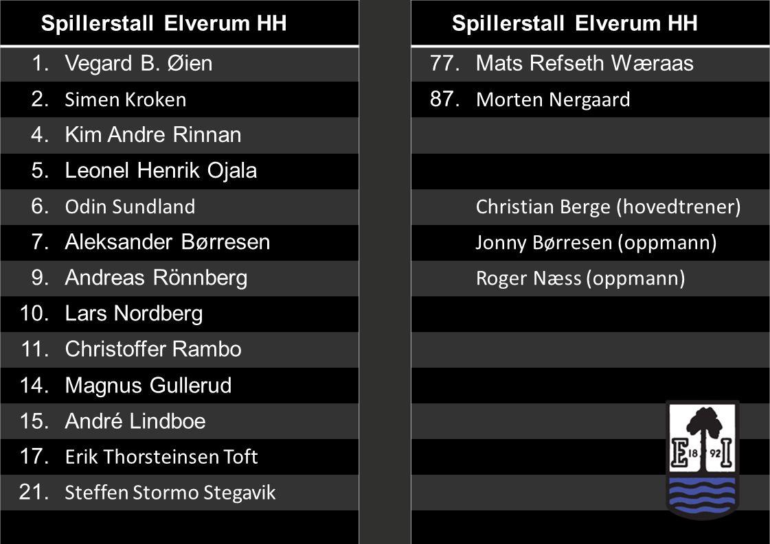 Spillerstall Elverum HH