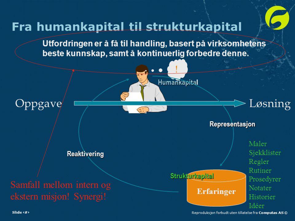 Fra humankapital til strukturkapital