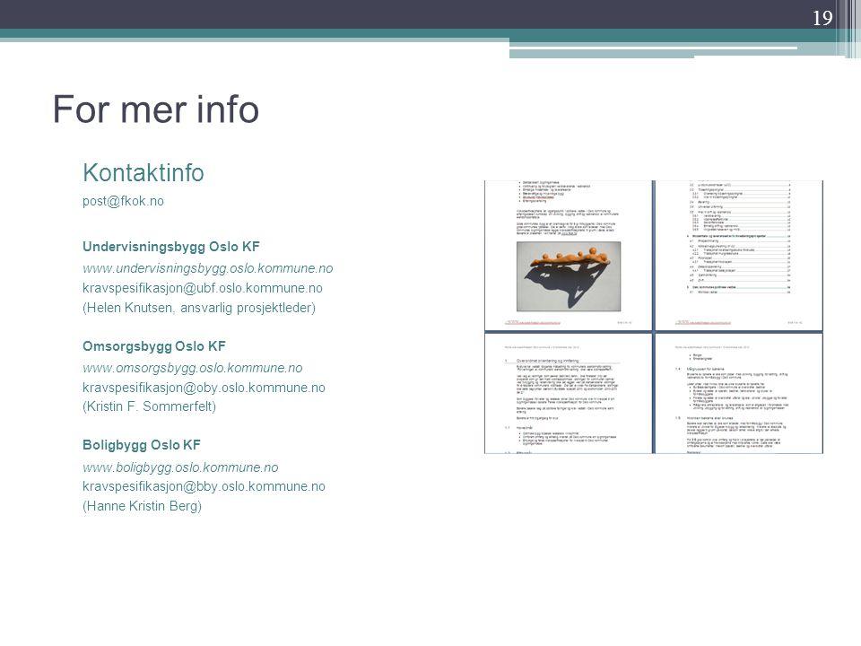 For mer info Kontaktinfo Er det fortalt noe om OEC Consulting