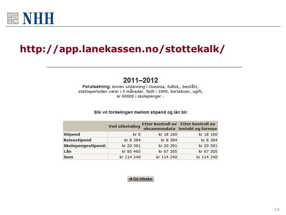 http://app.lanekassen.no/stottekalk/