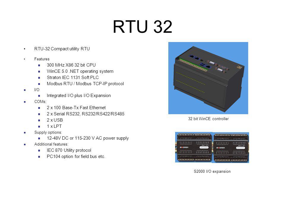 RTU 32 RTU32 RTU-32 Compact utility RTU 300 MHz X86 32 bit CPU